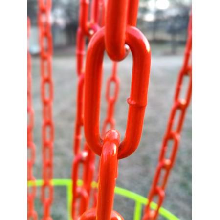 Glowing Orange Chains