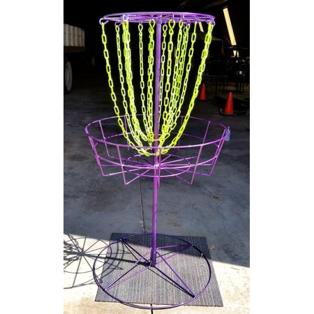 Glow Chains Practice Basket Purple and Neon Yellow